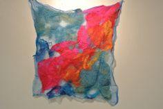 Amber Callahan nuno felted piece