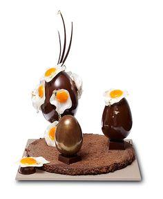 Easter Pâques - Nicolas Bernardé 2012 Chocolate World, Chocolate Art, Easter Chocolate, Chocolate Pictures, Chocolate Cakes, Divine Chocolate, Chocolate Pastry, Nicolas Bernardé, Baking Store