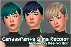 CandyyPants Sims — WMS Unnaturals, Naturals & Neutrals Add-on. Sims 4 Cc Packs, Sims 4 Mm Cc, Sims 4 Cas, My Sims, Sims 4 Clutter, Sims Building, Sims 4 Characters, Hair Pack, Bts Girl