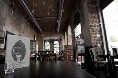 Design and Paper | BurgRing 1, a Modern Wiener Café House | http://www.designandpaper.com