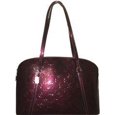 898ed2b80d07 SOLD - Louis Vuitton Avalon Rouge Fauviste Vernis Shoulder Bag. Stunning