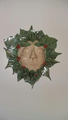 Green lady earthenware glaze