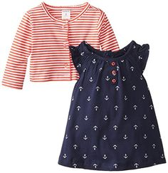 Carter's Baby Girls' 2 Piece Printed Dress Set (Baby) - Anchors - Newborn Carter's http://www.amazon.com/dp/B00H8795EK/ref=cm_sw_r_pi_dp_n9plvb1JNVXD3