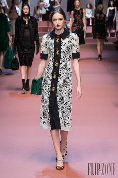 Dolce   Gabbana Fall-winter 2015-2016 - Ready-to-Wear Fashion 0190f2141e9
