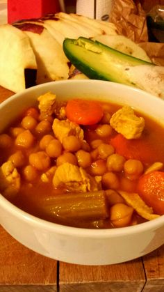 Zuppa di ceci Chana Masala, Ethnic Recipes, Food, Meal, Eten, Hoods, Meals