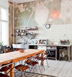 Rough-Luxe Kitchen