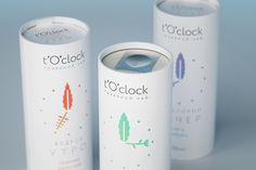 Interesting cylindrical packaging for milk or drinkable yoghurt