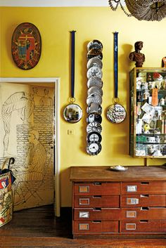 home fornasetti milan   orta with drawing 1950