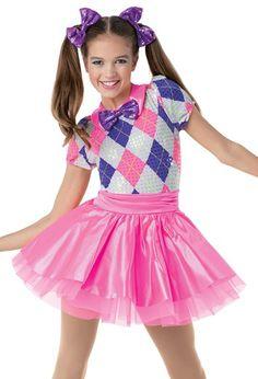?Weissman®   ?Sparkly Argyle ?Party Dress