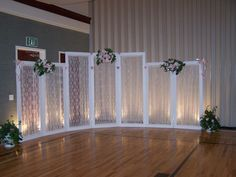 how to decorate a gym for a wedding reception - Google Search