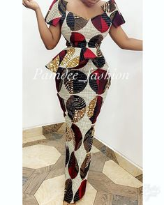 New Ankara Long Gown Styles 2019 African Fashion Ankara, Latest African Fashion Dresses, African Dresses For Women, African Print Fashion, African Attire, African Clothes, African Prints, Ankara Styles For Women, Ankara Short Gown Styles