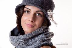 Modello Panna. 100% lana merino, tessuto a mano con amore da Rovida Design #scaldacolli #lanamerino #ecofashion #madeintuscany