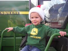 John Deere....gets in their blood at an early age