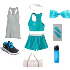 Cinderella's workout gear! I love snow's better but this one is cute to!