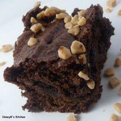 The Life & Loves of Grumpy's Honeybunch: Fudgy Mocha Brownies Chocolate Caramel Brownies, Mint Brownies, Bean Brownies, Chocolate Cake, Yummy Treats, Sweet Treats, Dessert Parfait, Healthy Deserts, Gluten Free Cooking