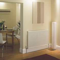 hydronic heating units (for downstairs)