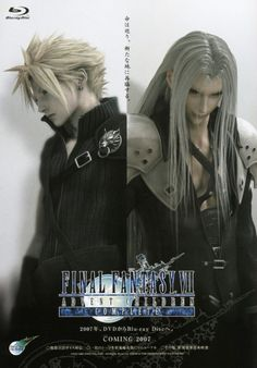 Cloud and Sephiroth! FF7.. one of the best stories in the FF series