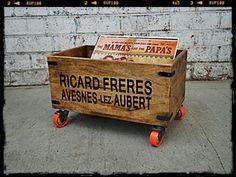 Record Storage Crate