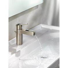 midarc bathroom faucet in brushed nickel