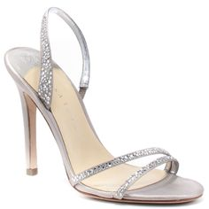 silver high heeled sandals - Google Search