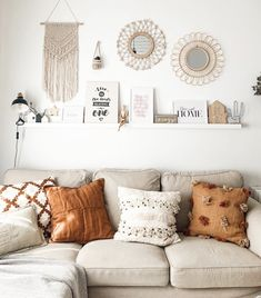 Boho Room, Boho Living Room, Home And Living, Living Room Decor, Bedroom Decor For Women, Diy Bedroom Decor, Home Decor, Small Apartment Living, New Room