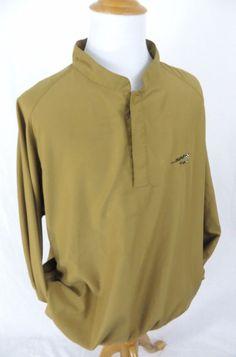 Footjoy Jacket XXL Dryjoy Athletic Golf 500 Club Windbreaker Snap Sport Pullover #FootJoy #Windbreaker