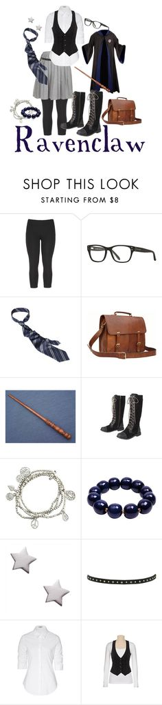 """""""Ravenclaw"""" by goldenfirefly85 ❤ liked on Polyvore featuring Michael Stars, Retrò, Pier 1 Imports, Kazuri, Miss Selfridge, Steffen Schraut and ravenclaw"""