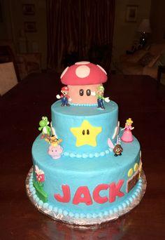 Mario Brother's cake