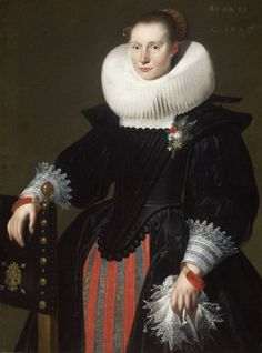 1627 Flemish Painter - Portrait of a Woman