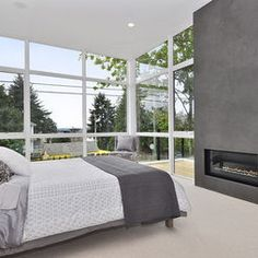 Bedroom Fireplace Design, Pictures, Remodel, Decor and Ideas - page 2