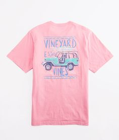 Surf Ride Graphic Pocket T-Shirt