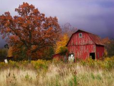 I love old barns...