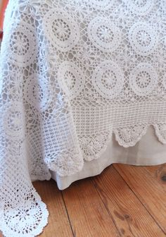 French crochet bed cover, perfect, king crochet bed cover, crochet bedspread