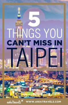 Figuring out what to see in Taipei can be difficult, here are my top 5 things you should do in if you have more than a weekend. | Taiwan | Taipei 101