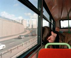 G.B. SCOTLAND. Glasgow. Top deck of the bus. 1995. © Martin Parr/Magnum Photos
