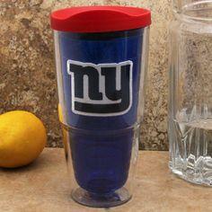 Nfl Tervis Tumbler New York Giants 24oz Color Pro With Lid Royal Blue