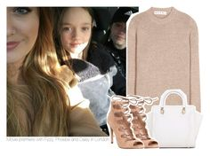 """""""Movie premiere with Fizzy, Phoebe and Daisy in London"""" by stylistdirectioner ❤ liked on Polyvore featuring Marni and Office"""
