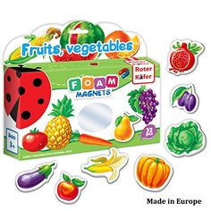 Refrigerator Magnets for kids FRUITS VEGGIES 32 pcs Fridge Magnets for Toddlers activity Educational Kid magnets Toddler magnets Baby Magnets Food Magnets Magnetic Shapes Foam Magnets *** Read more at the image link. (This is an affiliate link) Fruits For Kids, Kids Fruit, Kids Magnets, Vip Kid, Toddler Age, Developmental Toys, Baby Learning, Free Coloring, Kids Education