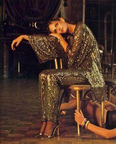 Shot by Deborah Turbeville for Vogue, November 1979
