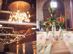 LIGHTING AND SIMPLE TABLE SETTINGS