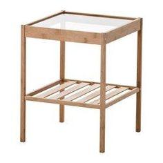 IKEA - NESNA, Nattbord, , Bambus er et slitesterkt naturmateriale.