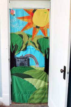 portable doorway puppet theater by yours truly. $95 made to order....    https://www.etsy.com/listing/97950138/rsvp-for-shanda-custom-doorway-puppet?listing_id=97950138_slug=rsvp-for-shanda-custom-doorway-puppet