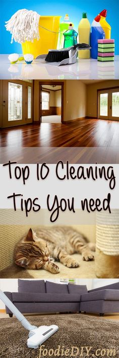 Now ! Top Cleaning tips you totally gonna need to keep your house clean and neat and with a good smell