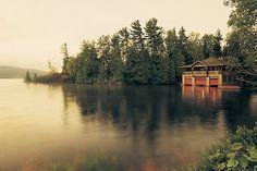 The Point Resort in Saranac Lake,NY  --- one day....