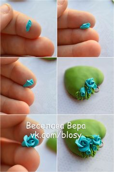 46 best Polymer Clay Flowers and Plants Tutorials and Inspiration . Fimo Polymer Clay, Polymer Clay Flowers, Polymer Clay Projects, Polymer Clay Creations, Polymer Clay Jewelry, Clay Crafts, Clay Design, Clay Tutorials, Clay Beads