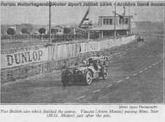 24H LE MANS 1934 - ASTON MARTIN ULSTER  #20 -  Reggie Tongue - Maurice Faulkner