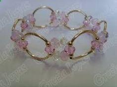 Resultado de imagen para pulseras de cristal swarovski con oro #bisuteriafina #bisuteria #mujer #peru
