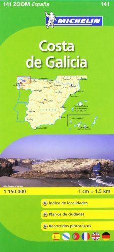 Mapa Zoom Costa de Galicia (Mapas Zoom Michelin)