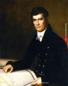 Charles Bird King John C. Calhoun, Secretary of War, painting Authorized official website