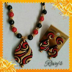 by RevathyH-Terracotta jewelry set